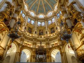 granada cathedral dome spain