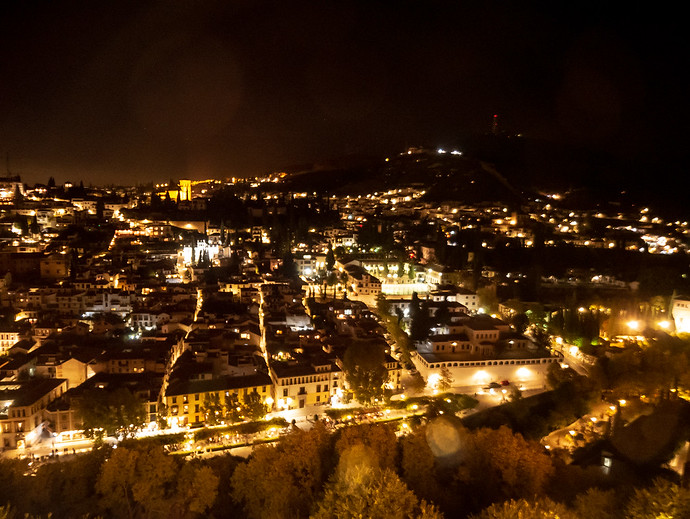 granada at night