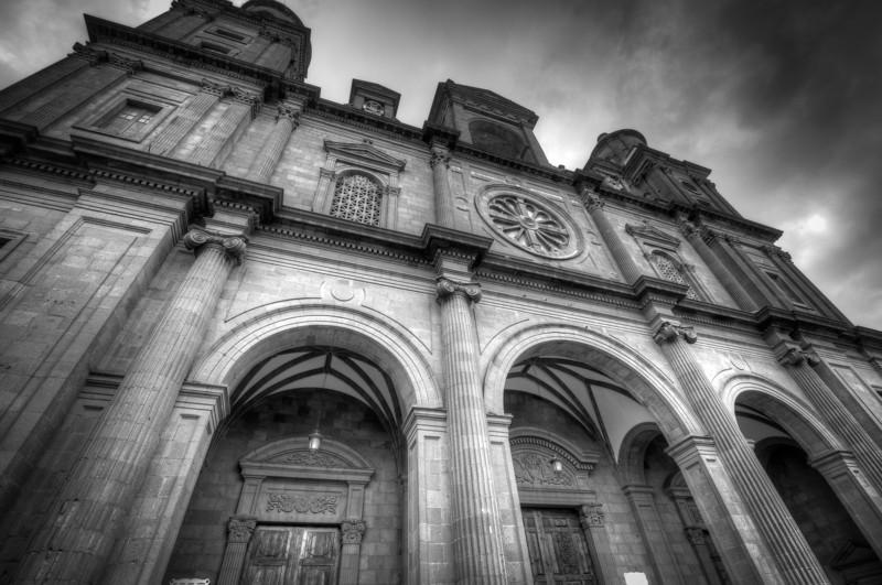 Santa Ana Cathedral in Las Palmas, Gran Canaria, Spain