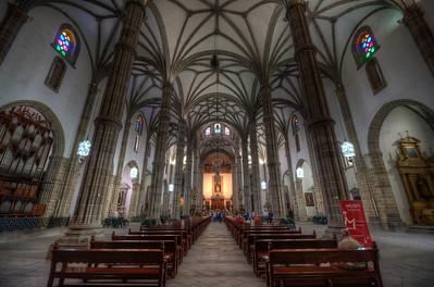 Inside Santa Ana Cathedral in Las Palmas, Gran Canaria, Spain