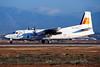 """EC-GHC Fokker 50 """"Air Nostrum"""" c/n 20262 Palma/LEPA/PMI 17-03-00 """"Iberia"""" (35mm slide)"""