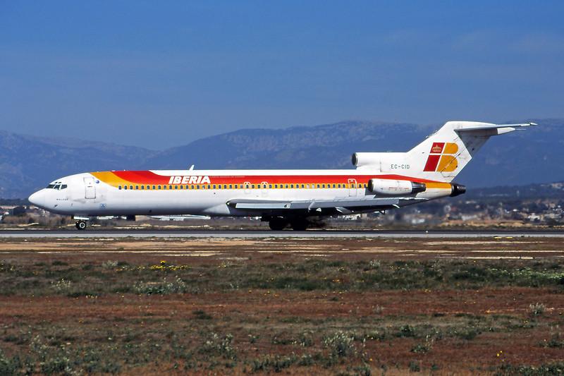 EC-CID Boeing 727-256 c/n 20974 Palma/LEPA/PMI 17-03-00 (35mm slide)