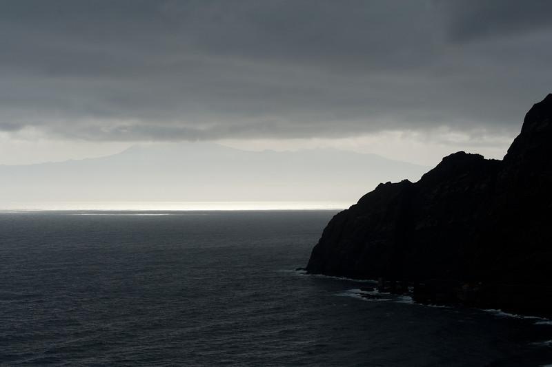 Coastal scenery at La Gomera, Canary Islands, Spain