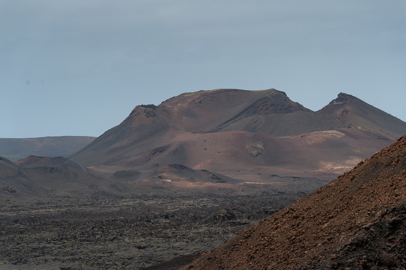 Timanfaya National Park in Lanzarote Island, Spain