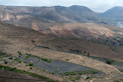 La Geria Valley in Lanzarote Island, Canary Islands, Spain