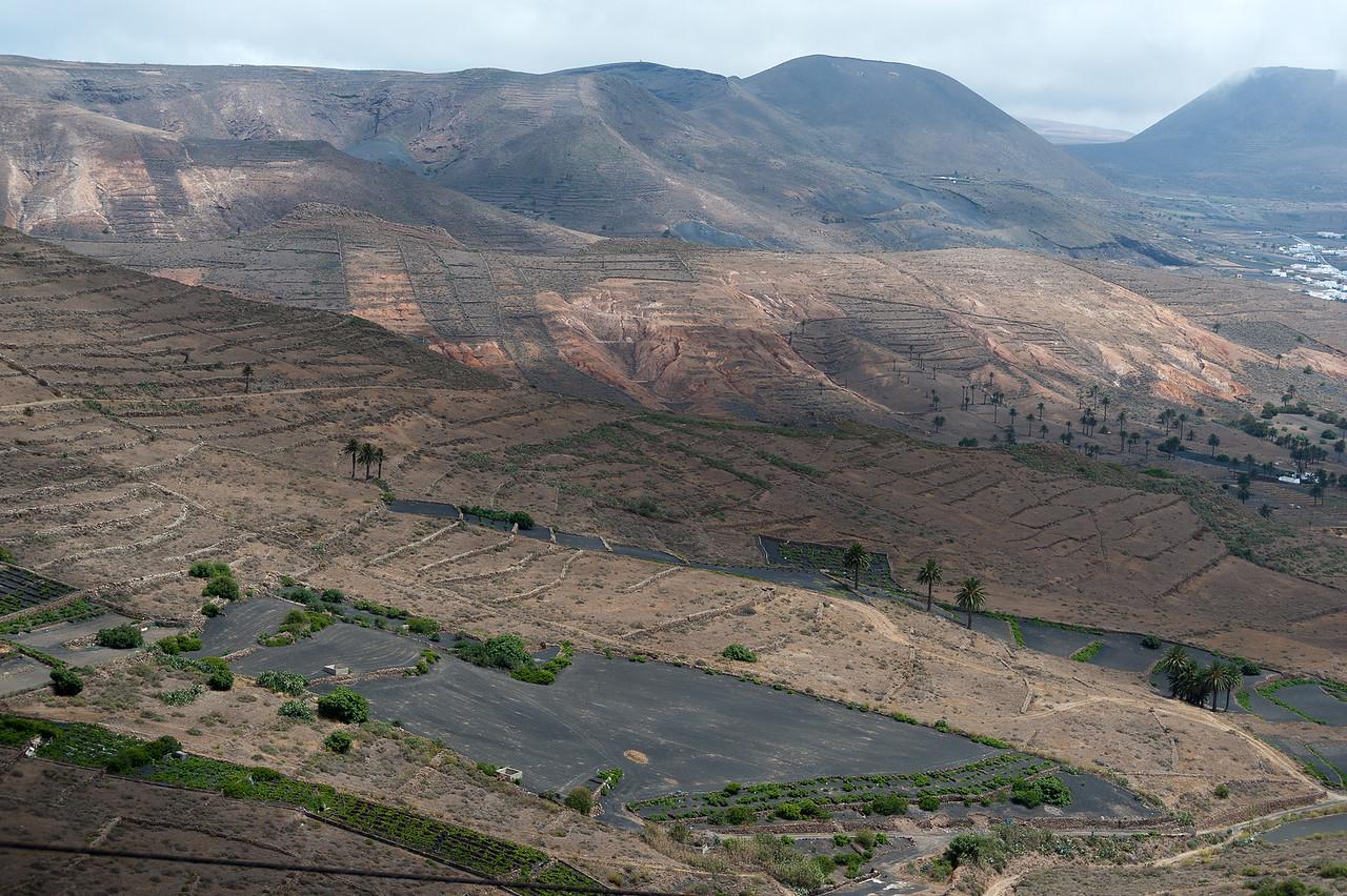 La Geria Valley in Lanzarote Island, Canary Islands, Spain