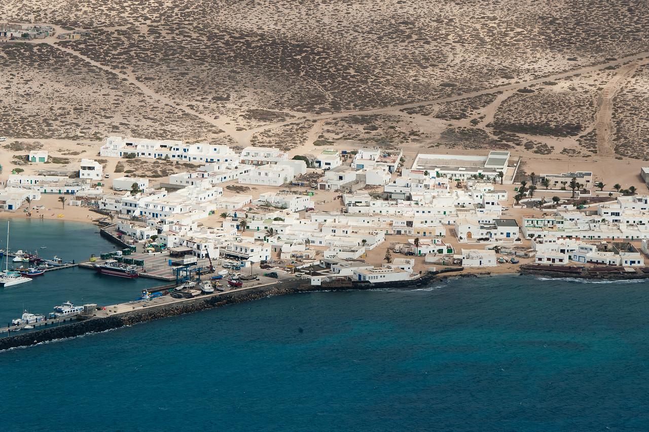 The small community living in La Graciosa island in Spain