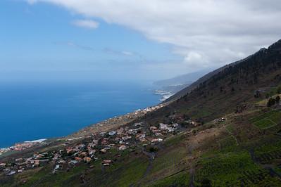 Coastal scenery in La Palma, Spain