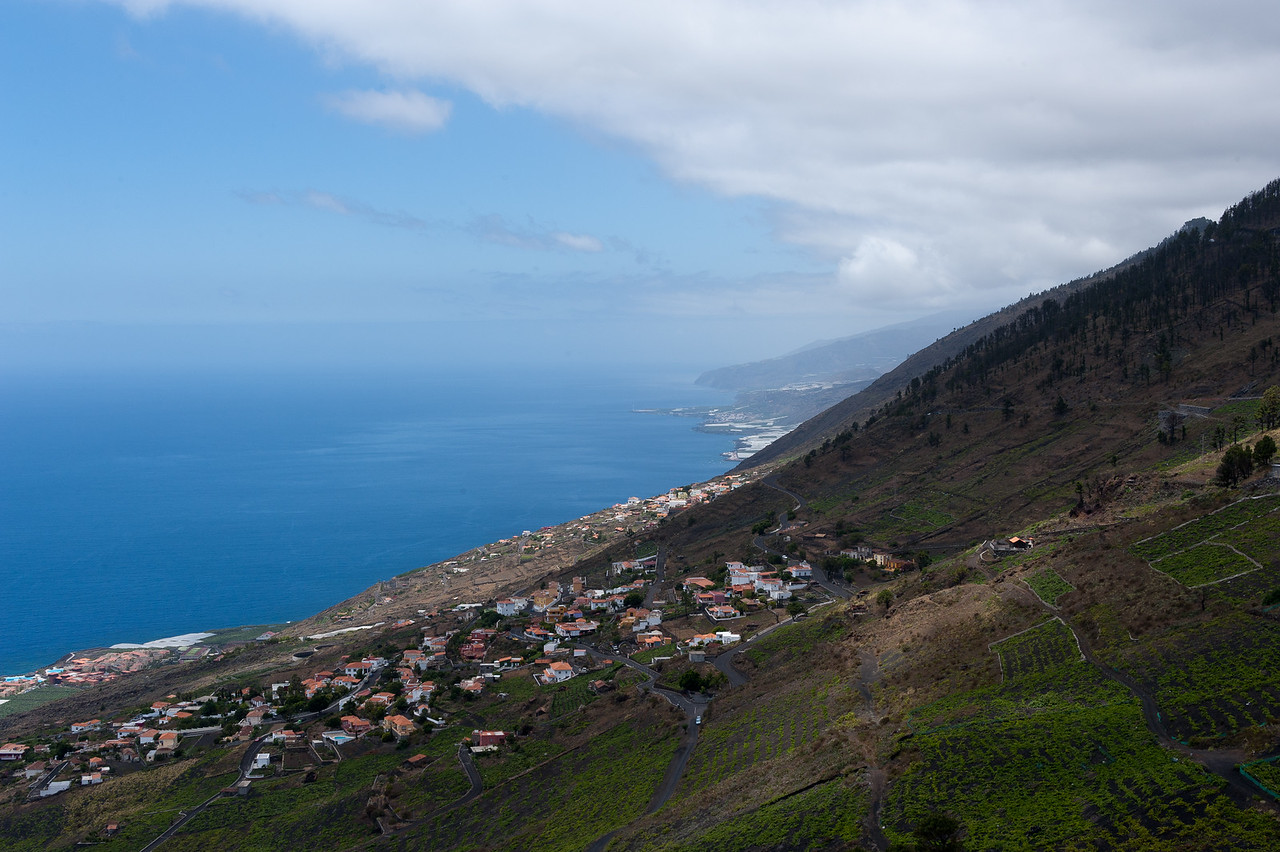 Coastal scenery in La Palma, Spain
