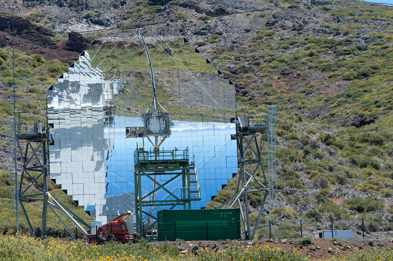 The Astrophysics Observatory in La Palma, Spain