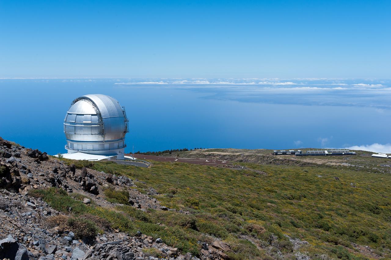 Gran Telescopio Canarias in Astrophysics Observatory of La Palma, Spain