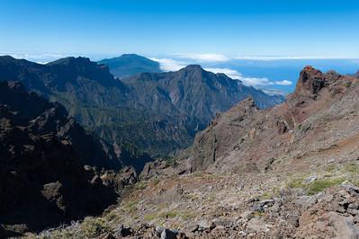 Mountain landscape in La Palma, Canary Islands, Spain