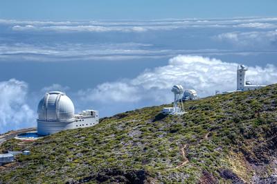 The Gran Telescopio Canarias in La Palma, Spain