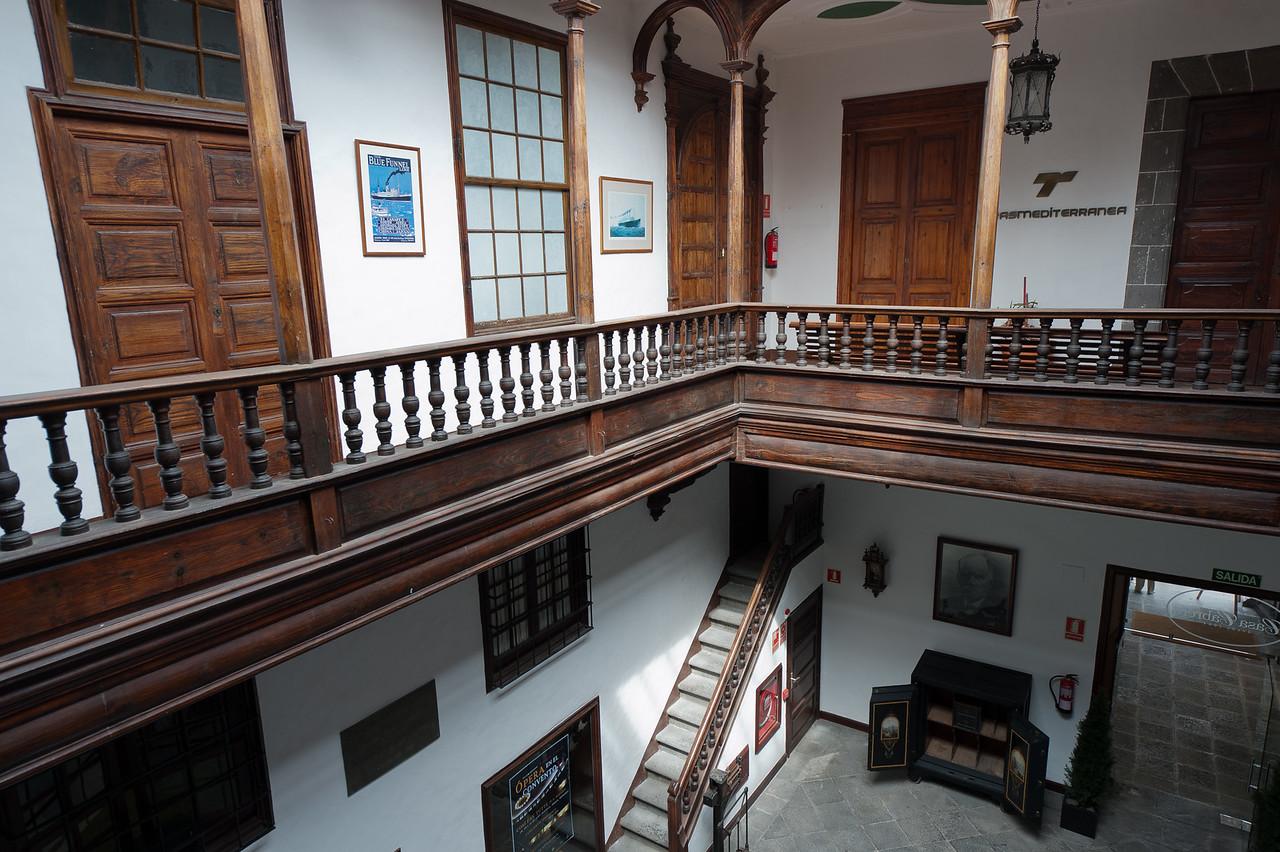 Palacio Salazar in Santa Cruz de la Palma - Spain