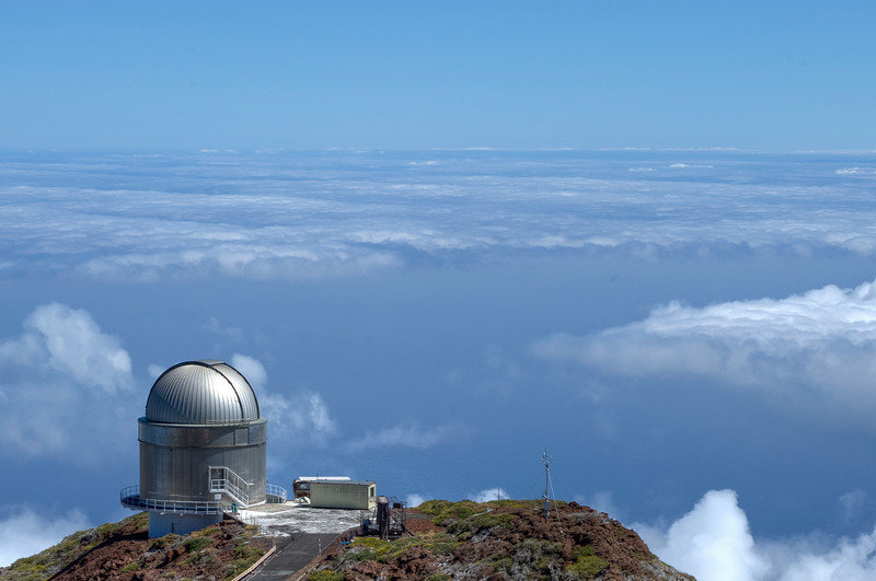 The Gran Telescopio Canarias in La Palma, Spain