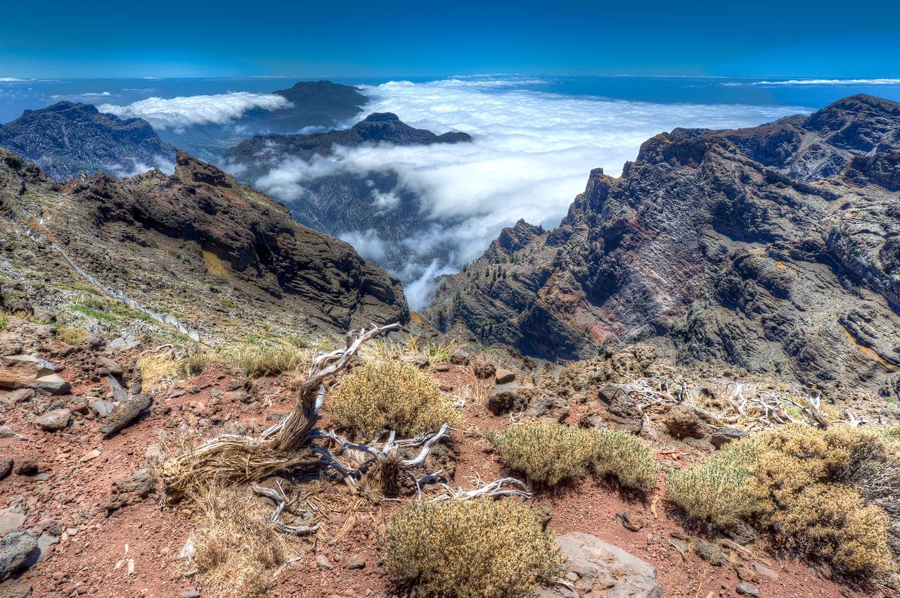 Rock of Muchachos in La Palma, Spain
