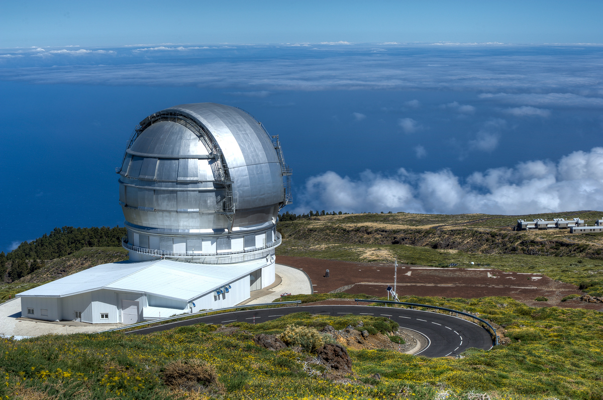 The Gran Telescopio Canarias on the Island of La Palma, Canary Islands