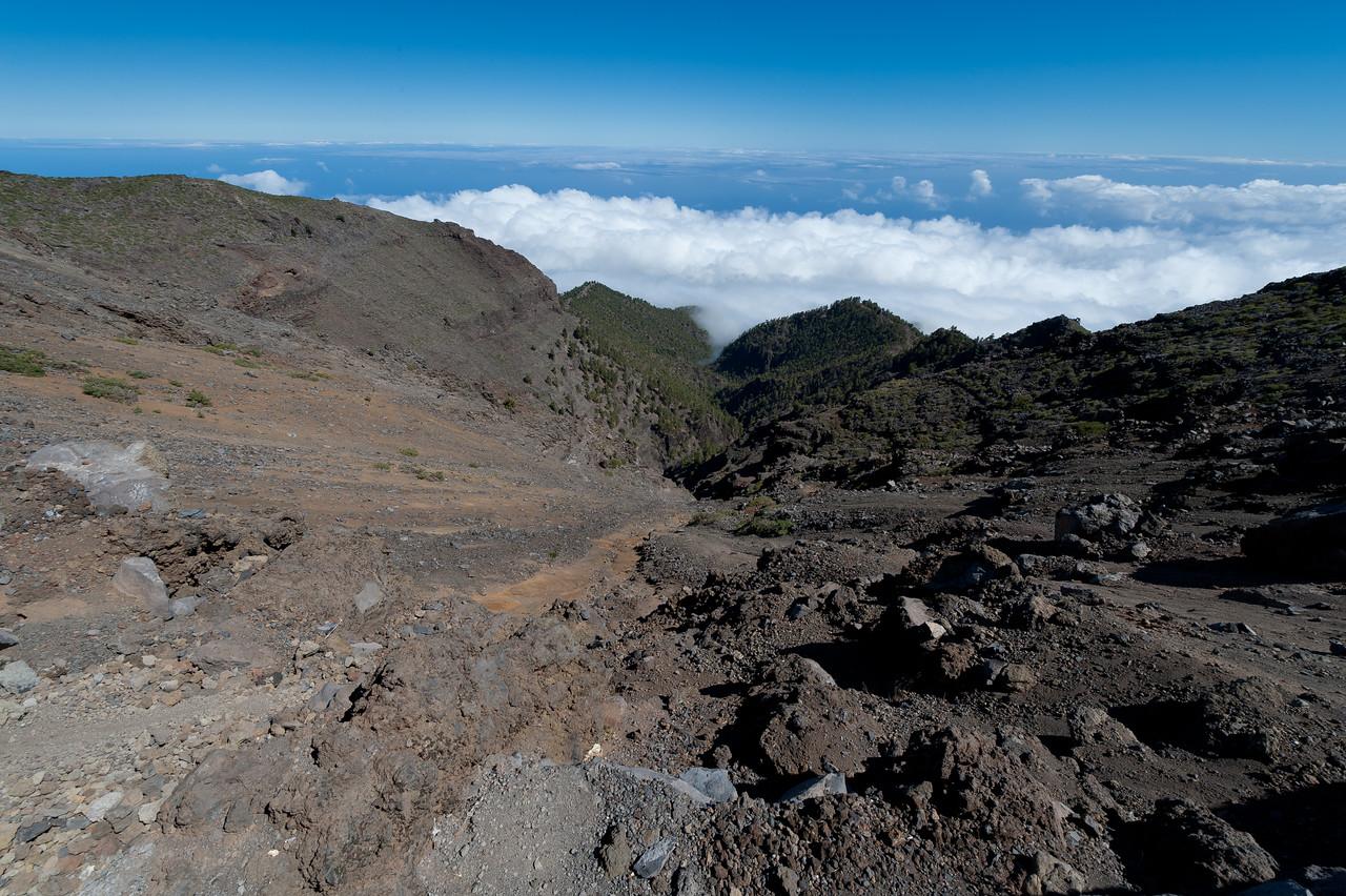 Volcanic landscape in La Palma, Canary Islands, Spain