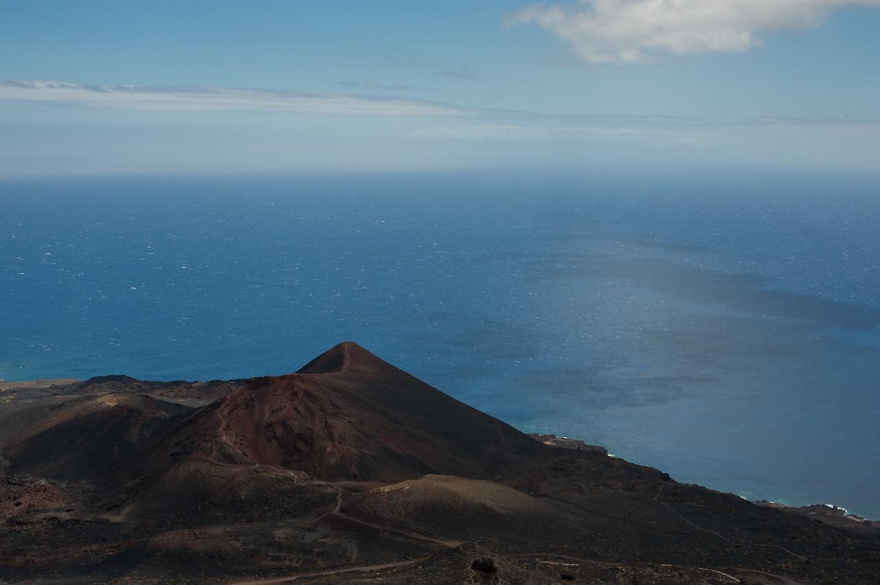 Teneguia Volcano in La Palma, Spain