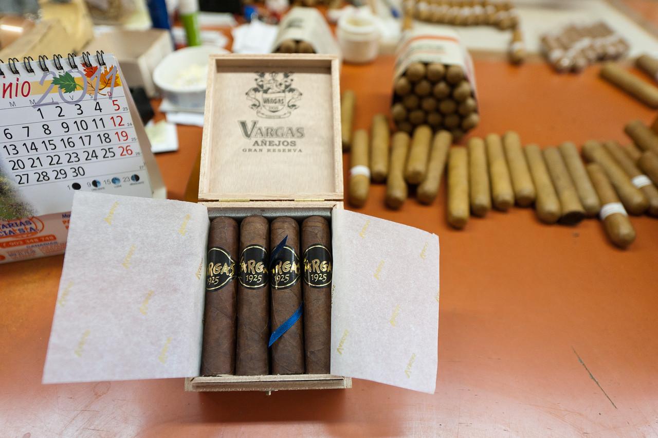 Bundles of cigar in La Palma, Spain