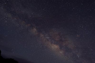 The Milky Way Over the Isle of La Palma - Canary Islands