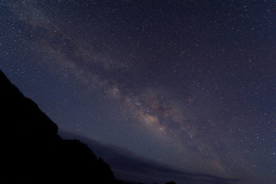 The Milky Way Over the Isle of La Palma - Canary Islands