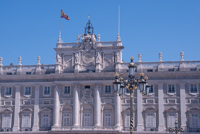 Palacio Real de Madrid in Spain