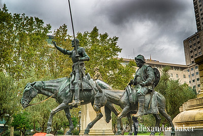 Don Quixote & Sancho Panza