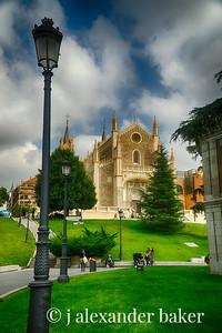 in front of the Prado, Madrid