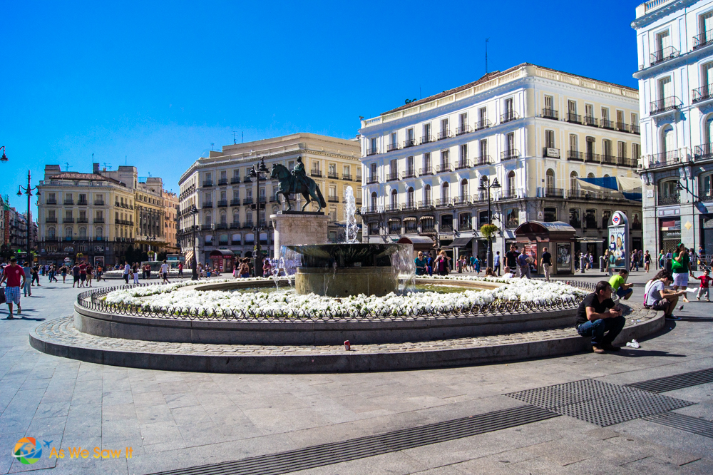 Plaza del Sol, Madrid