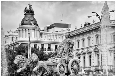 Fountain of Cybele, Madrid