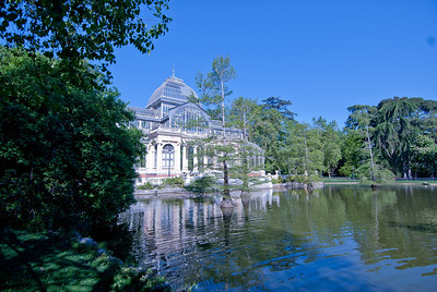 The Crystal Palace in Retiro Park - Madrid, Spain