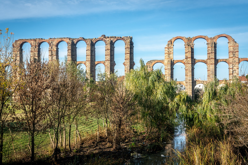 Acueducto de los Milagros, Mérida, Spain
