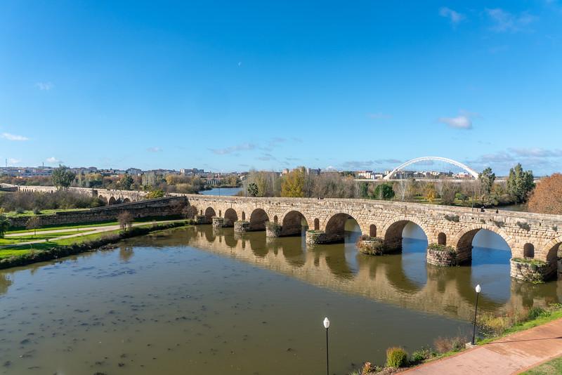 Puente Romano, Mérida, Spain