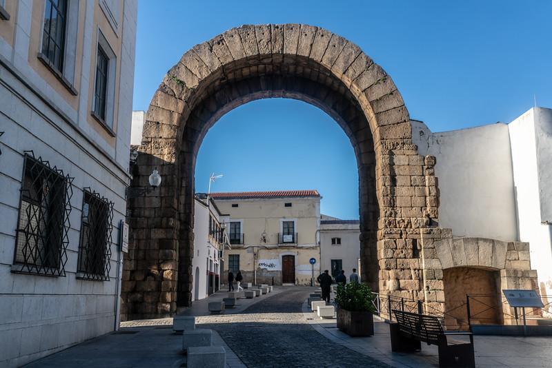 Arco de Trajano, Mérida, Spain