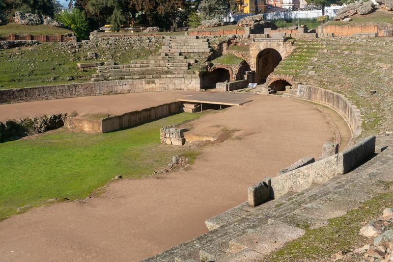 Anfiteatro Romano, Mérida, Spain