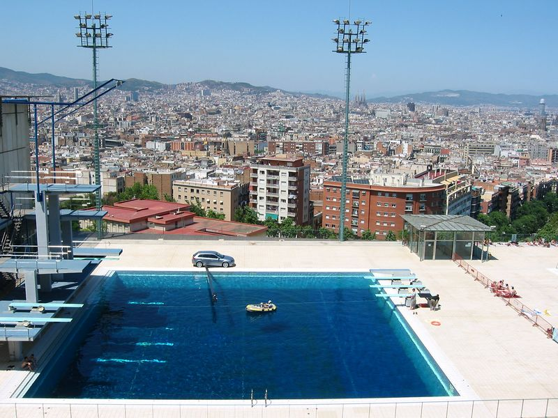 Olympic Pool, Barcelona