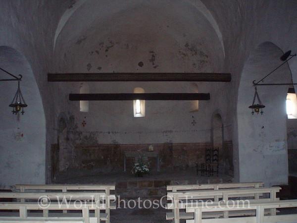 900 AD Chapel - Interior