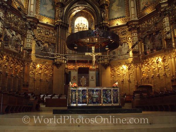Monastery of Montserrat - Basilica Altar