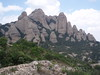 Montserrat Mountains - Peak from Top of Sant Joan Funicular