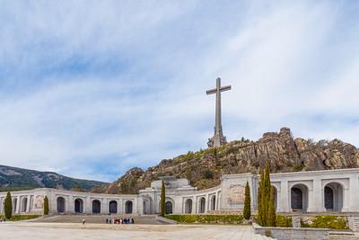 Franco's tombe at Valle de los Caídos