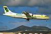 """EC-IPJ Aerospatiale ATR-72-202 """"Binter Canarias"""" c/n 307 Arrecife/GCRR/ACE 26-01-07 (35mm slide)"""