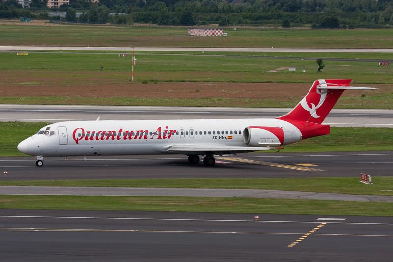 """EC-HNY Boeing 717-2CM """"Quantum Air"""" c/n 55059 Dusseldorf/EDDL/DUS 19-07-09"""