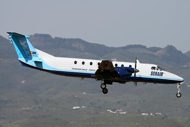 "EC-GUD Beech 1900C-1 ""Serair"" c/n UC-156 Las Palmas/GCLP/LPA 03-02-16"