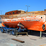 Boat in Drydock – Palamos, Spain – Daily Photo