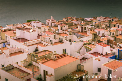 rooftops of Peniscola