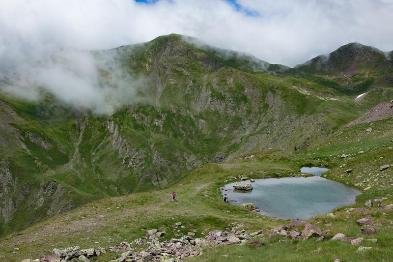 Mountain water hole