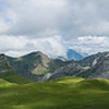 Panorama of Pyrenees