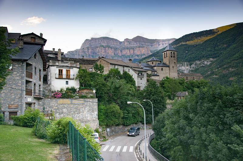 Tranquil village of Torla