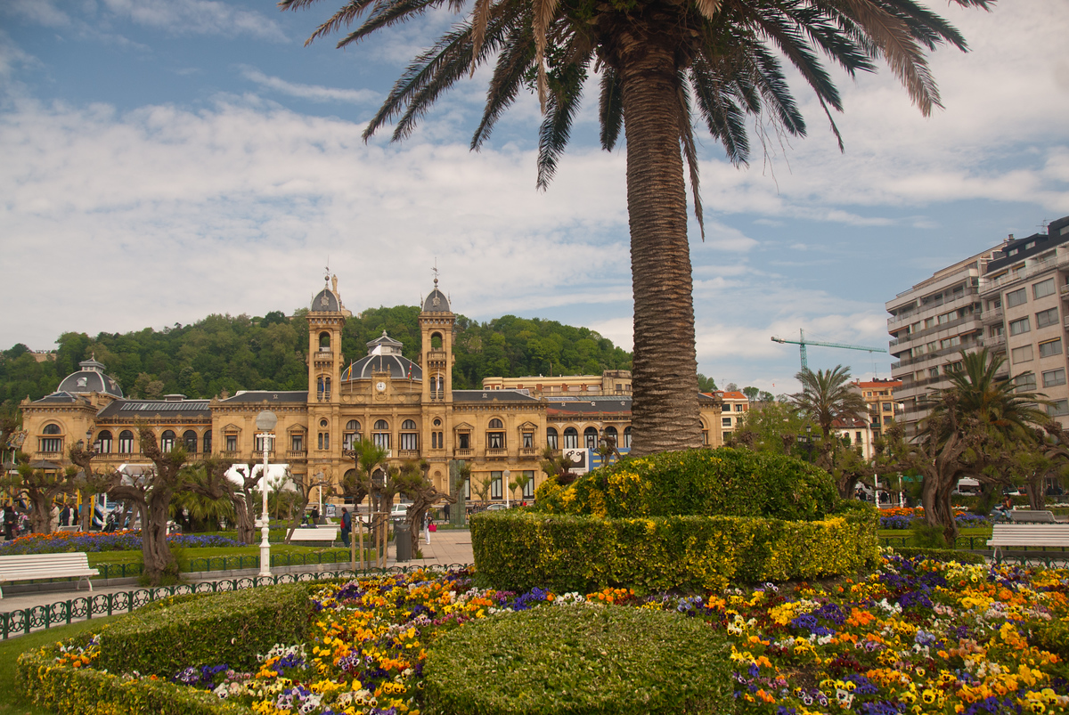 City Hall in San Sebastian, Spain
